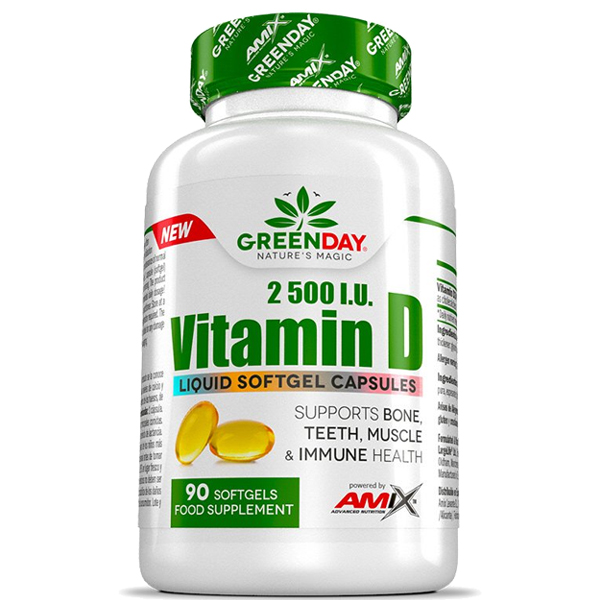 Vitamin D 2500 U.I. Amix 90 softgels