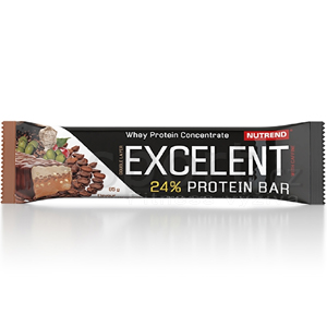 Excelent protein bar Double with Caffeine firmy Nutrend